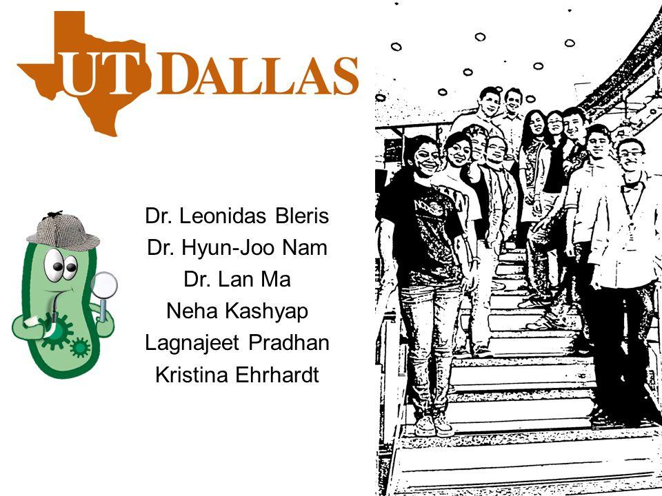 Dr. Leonidas Bleris Dr. Hyun-Joo Nam Dr. Lan Ma Neha Kashyap Lagnajeet Pradhan Kristina Ehrhardt