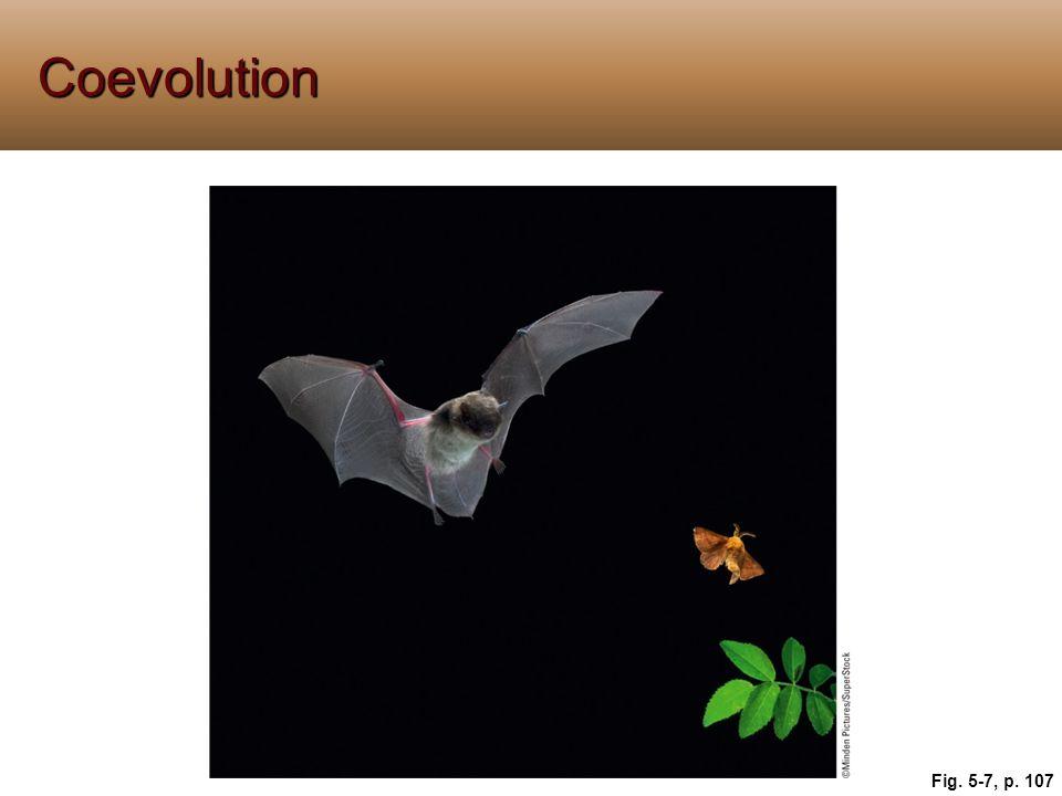 Coevolution Fig. 5-7, p. 107