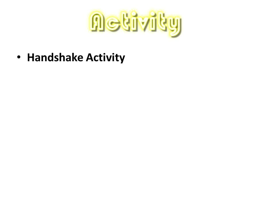 Handshake Activity