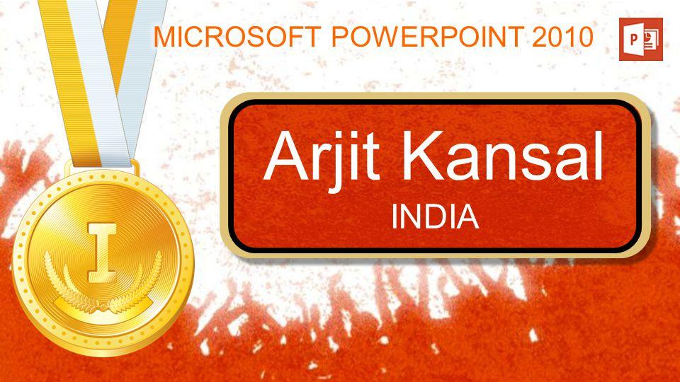 Arjit Kansal INDIA