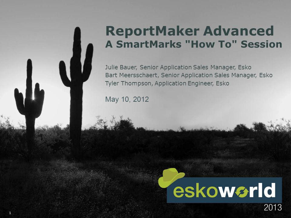 2 ReportMaker Advanced A SmartMarks How To Session SmartMarks play a significant part in the creation of an effective template for use with your ReportMaker Task.