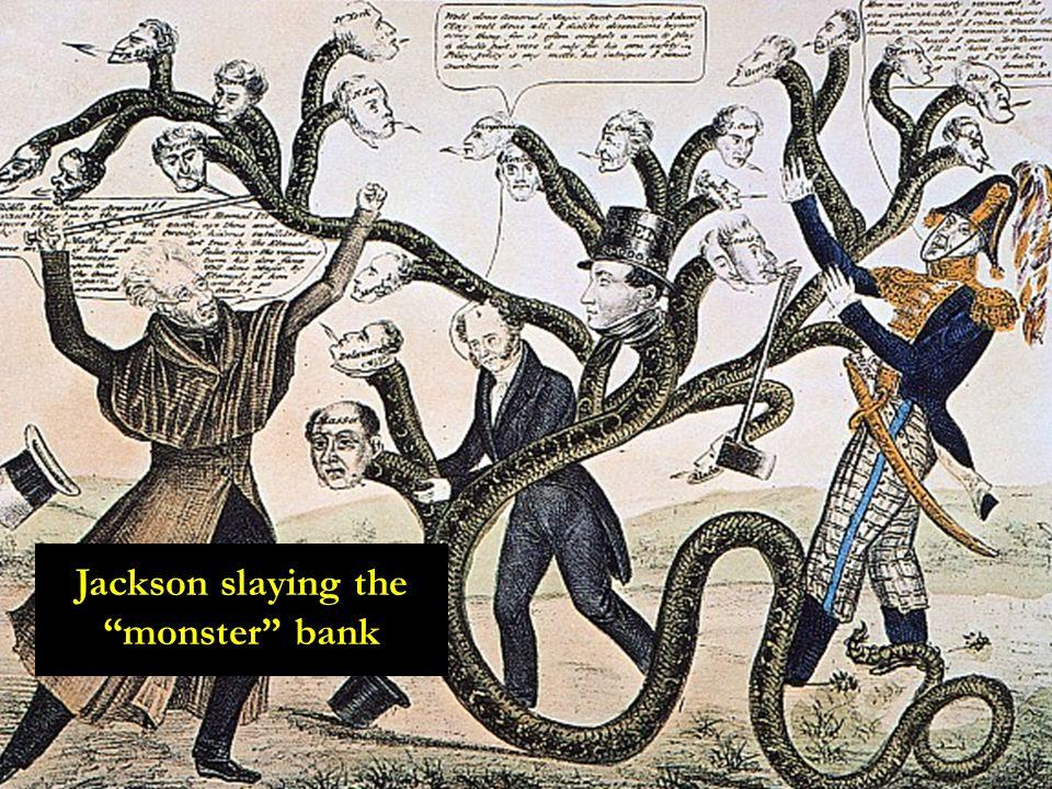 """Jackson slaying the """"monster"""" bank"""