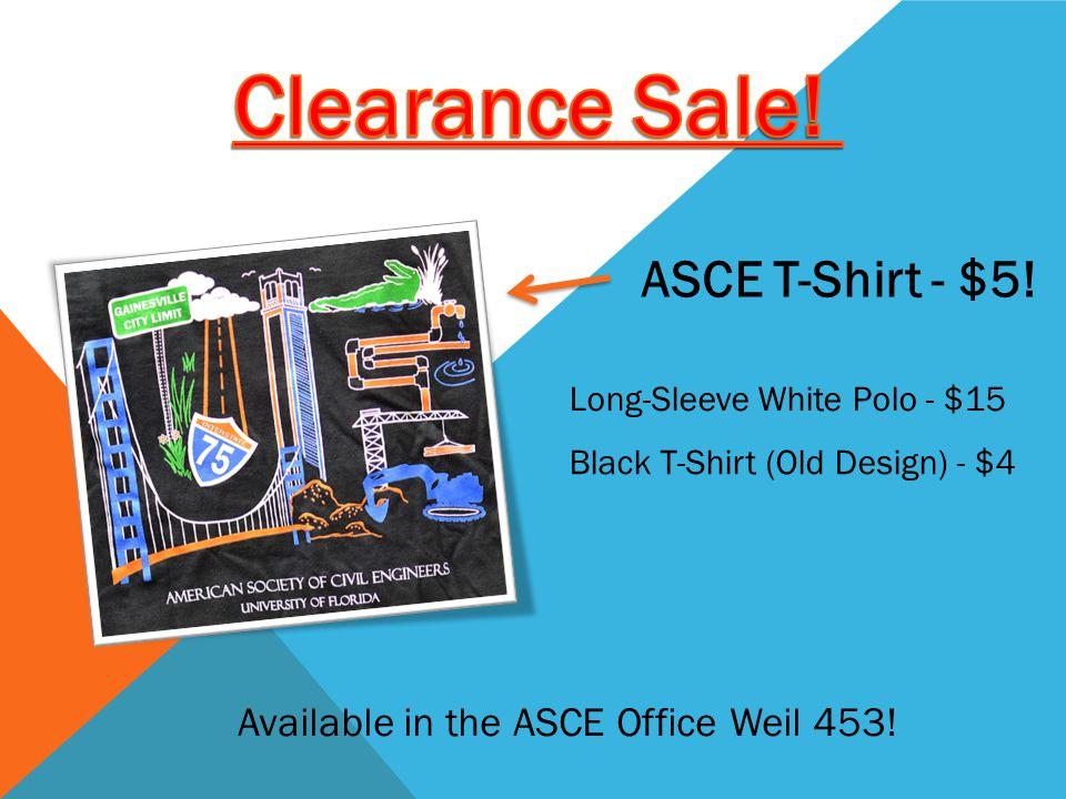 ASCE T-Shirt - $5.