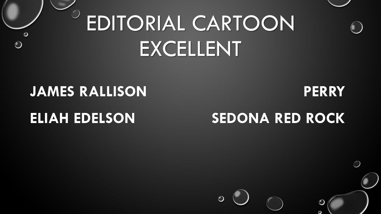 EDITORIAL CARTOON EXCELLENT JAMES RALLISON PERRY ELIAH EDELSON SEDONA RED ROCK