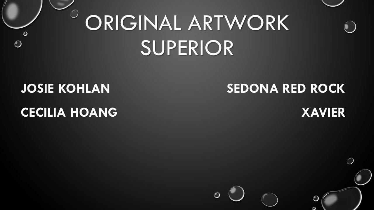 ORIGINAL ARTWORK SUPERIOR JOSIE KOHLAN SEDONA RED ROCK CECILIA HOANG XAVIER