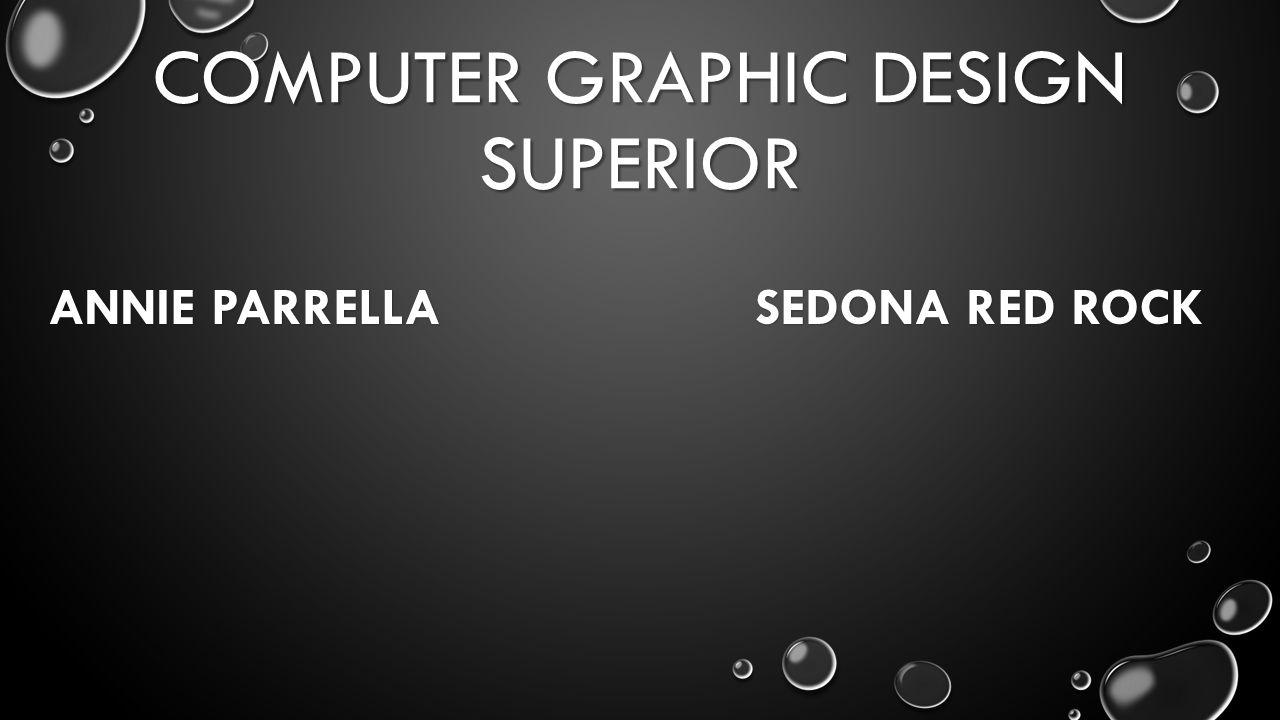 COMPUTER GRAPHIC DESIGN SUPERIOR ANNIE PARRELLA SEDONA RED ROCK