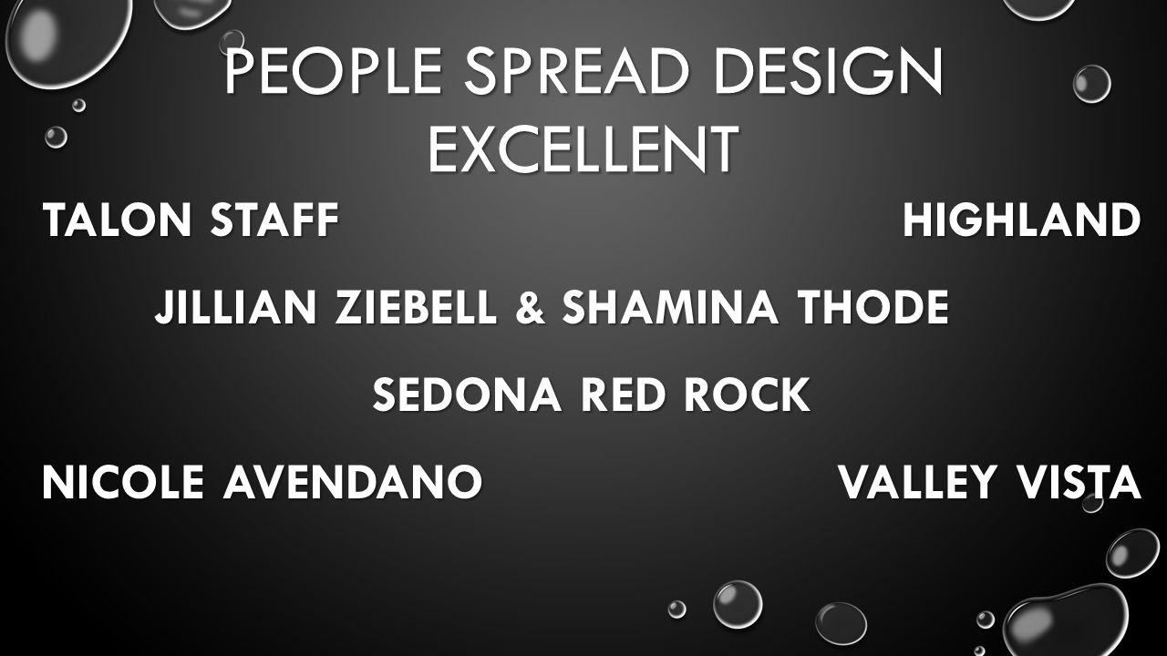 PEOPLE SPREAD DESIGN EXCELLENT TALON STAFF HIGHLAND JILLIAN ZIEBELL & SHAMINA THODE SEDONA RED ROCK NICOLE AVENDANO VALLEY VISTA