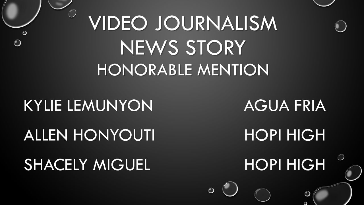 STORY PACKAGE HONORABLE MENTION STAFF BROPHY COLLEGE PREP AMANDA ASHINOFF MOON VALLEY KAREN GIORGIANNI SEDONA RED ROCK