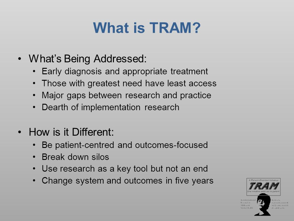 What is TRAM.