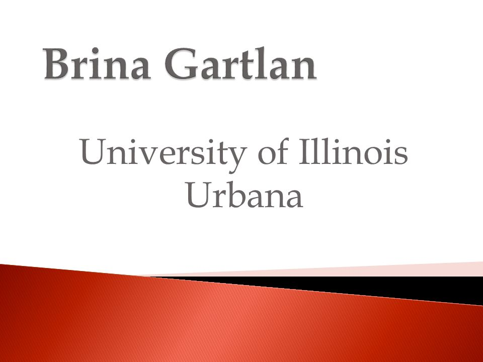 University of Illinois Urbana
