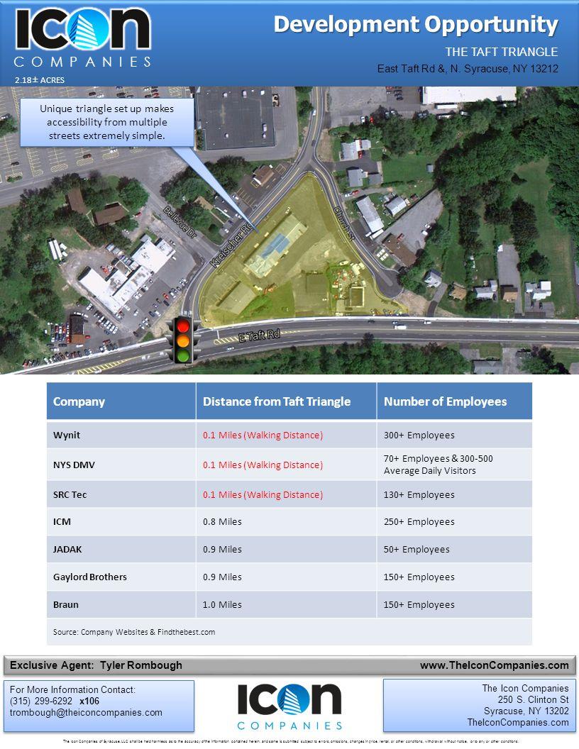 Development Opportunity THE TAFT TRIANGLE East Taft Rd &, N.