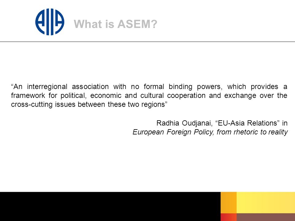What is ASEM.