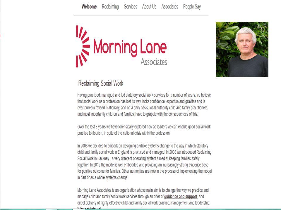  President of ADCS  Hackney model  'crap social workers'  Teaching background  LA senior management / Hackney/ London voice dominant