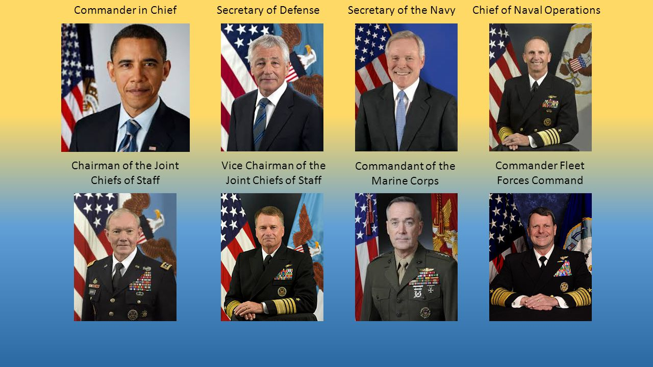Commander U.S. Pacific Fleet Master Chief Petty Officer of the Navy