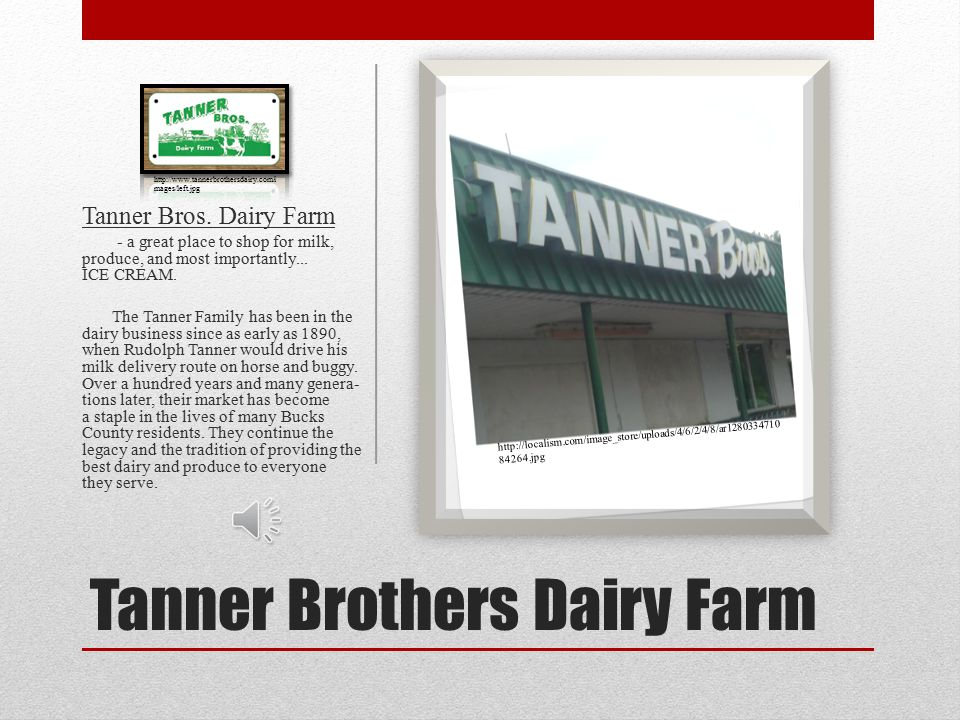 Tanner Brothers Dairy Farm Tanner Bros.