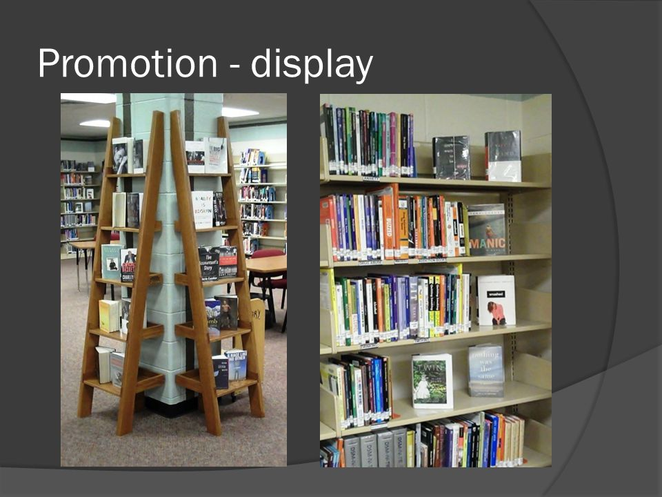 Promotion - display