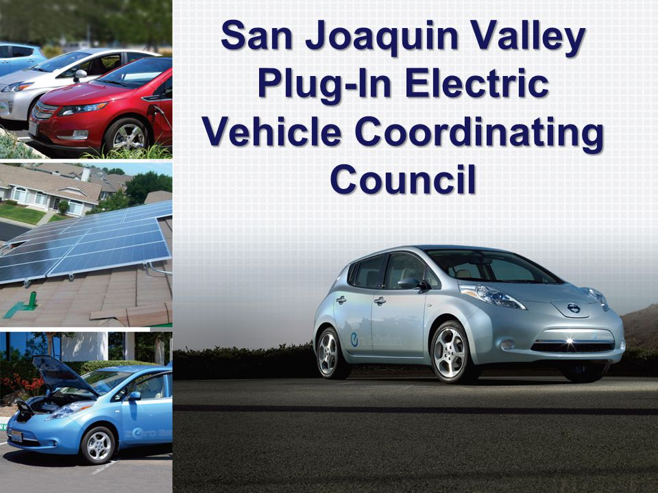 What is the San Joaquin Valley Plug-In Electric Vehicle Coordinating Council?