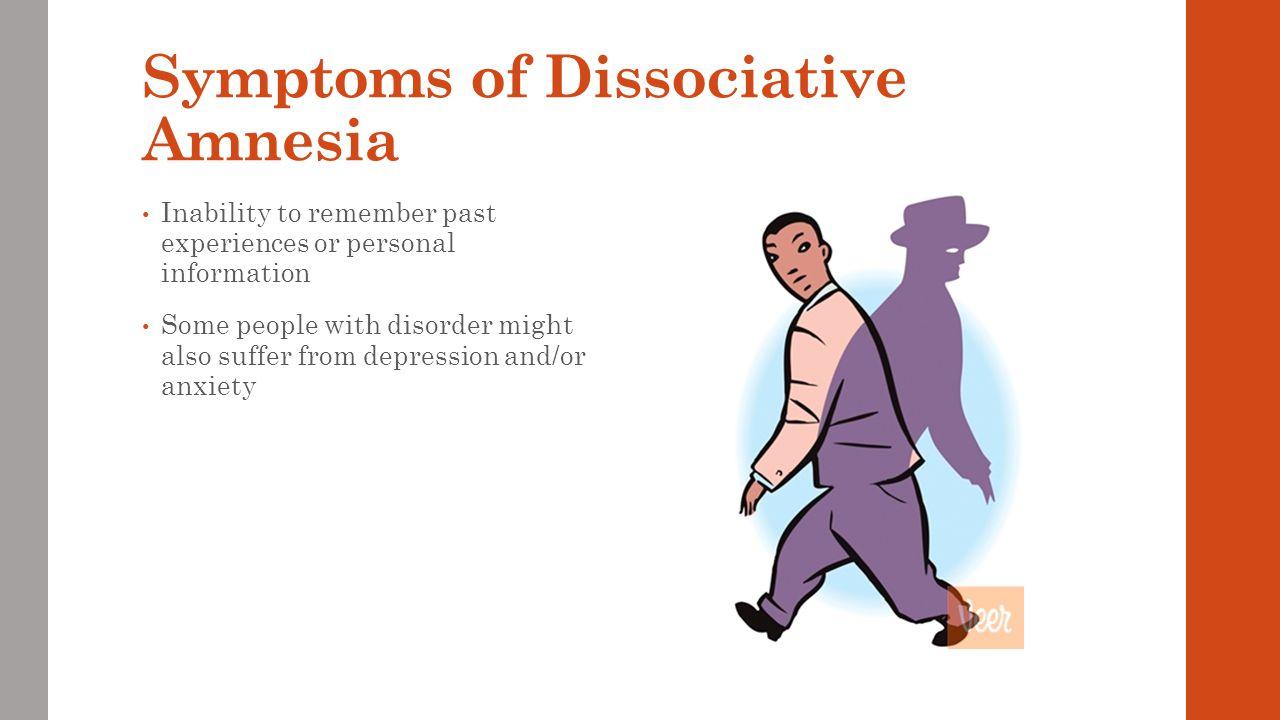 Video of Dissociative Amnesia https://www.youtube.com/watch?v=n1is6S4sCK4