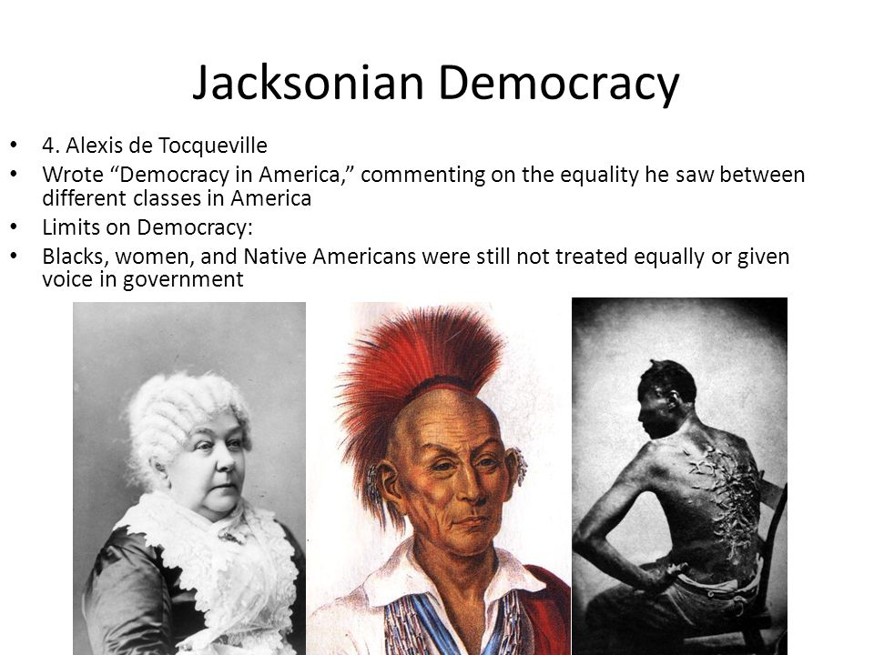 Evaluation of Jackson Man of the people.