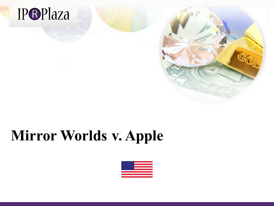 In 2008, the technology company Mirror Worlds, LLC filed suit against Apple, Inc.