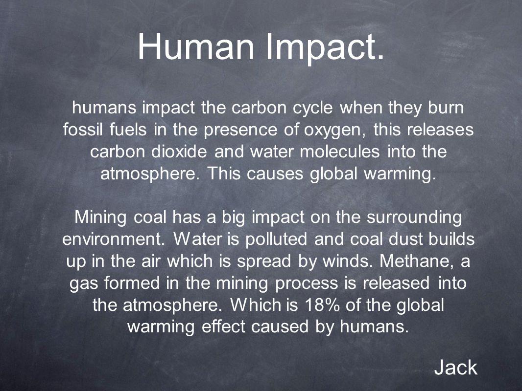 Human Impact.