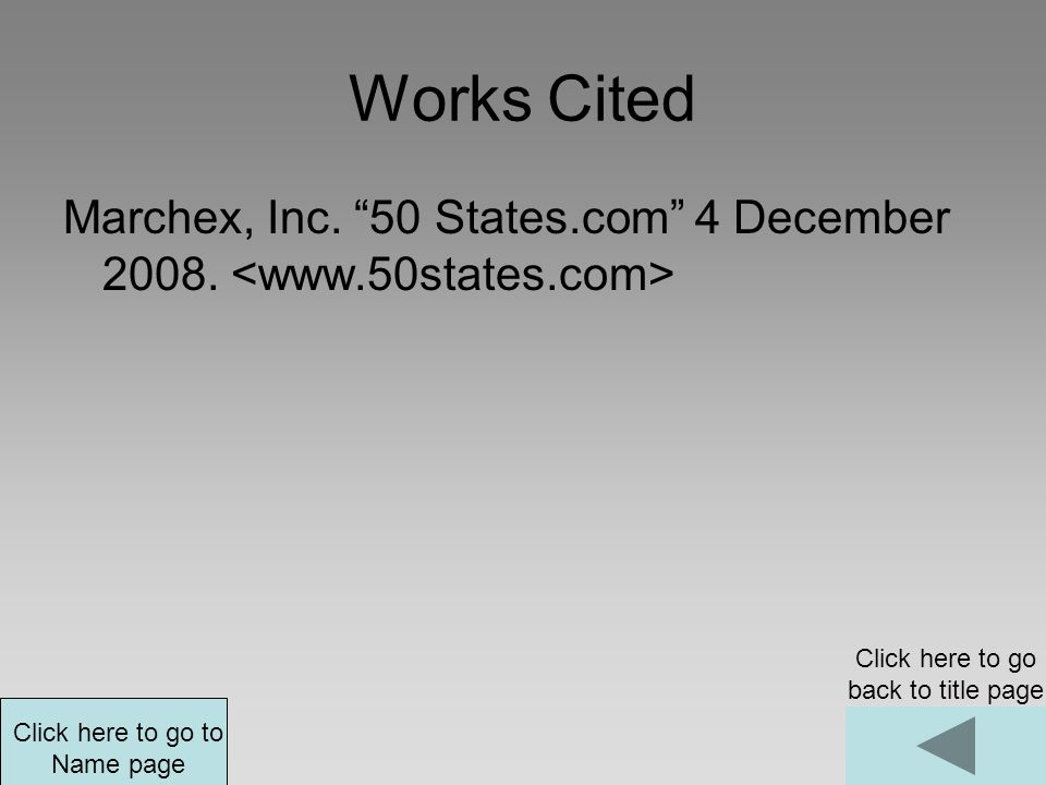 Click here to go back to title page Click here to go to Works Cited