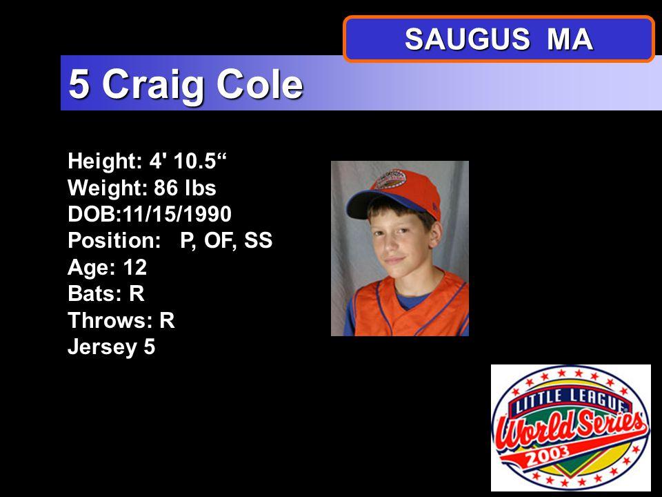 SAUGUS AMERICAN Little League All Stars 2003