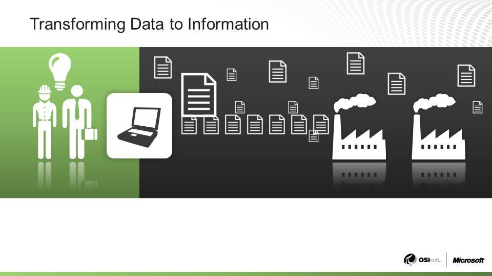 Transforming Data to Information