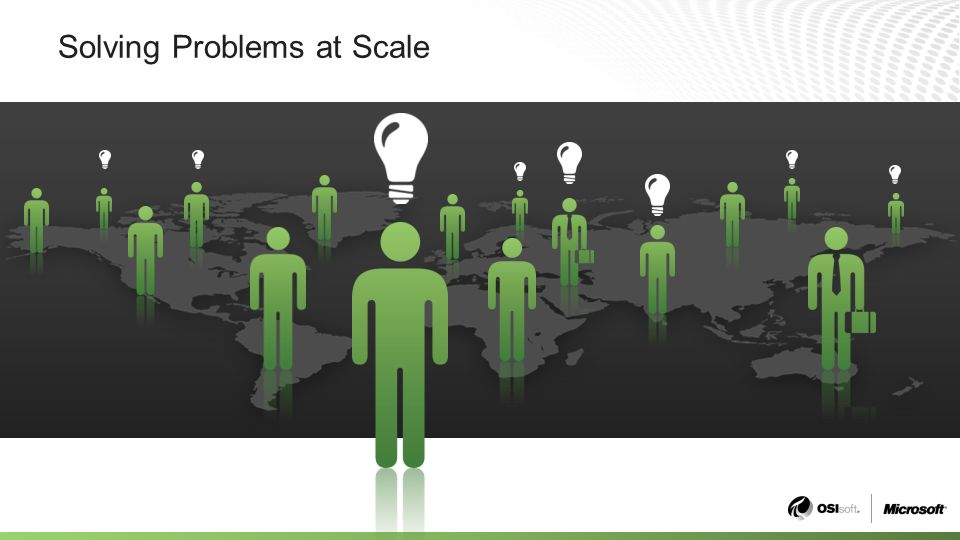 Solving Problems at Scale