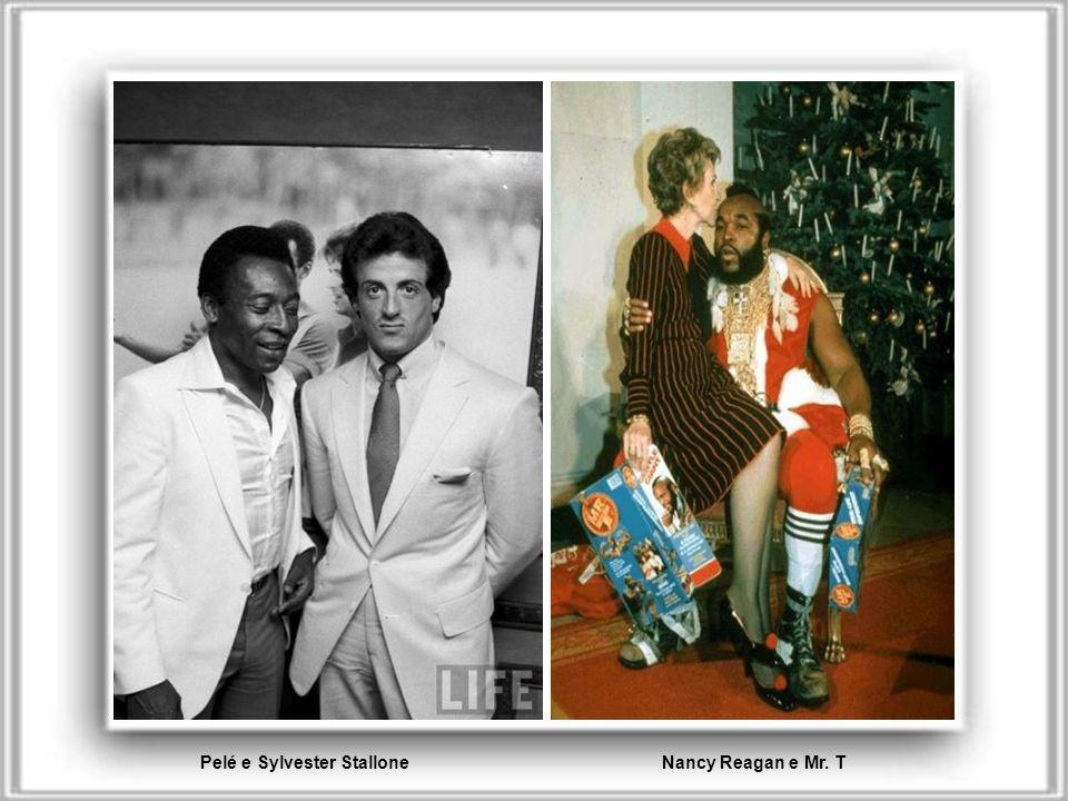 Marlon Brando e Miriam Makeba Salvador Dali e Coco Chanel