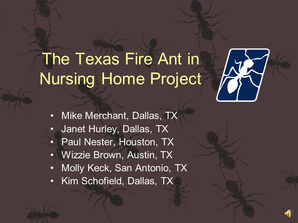 http://fireants.tamu.edu Texas Imported Fire Ant research and Management Plan