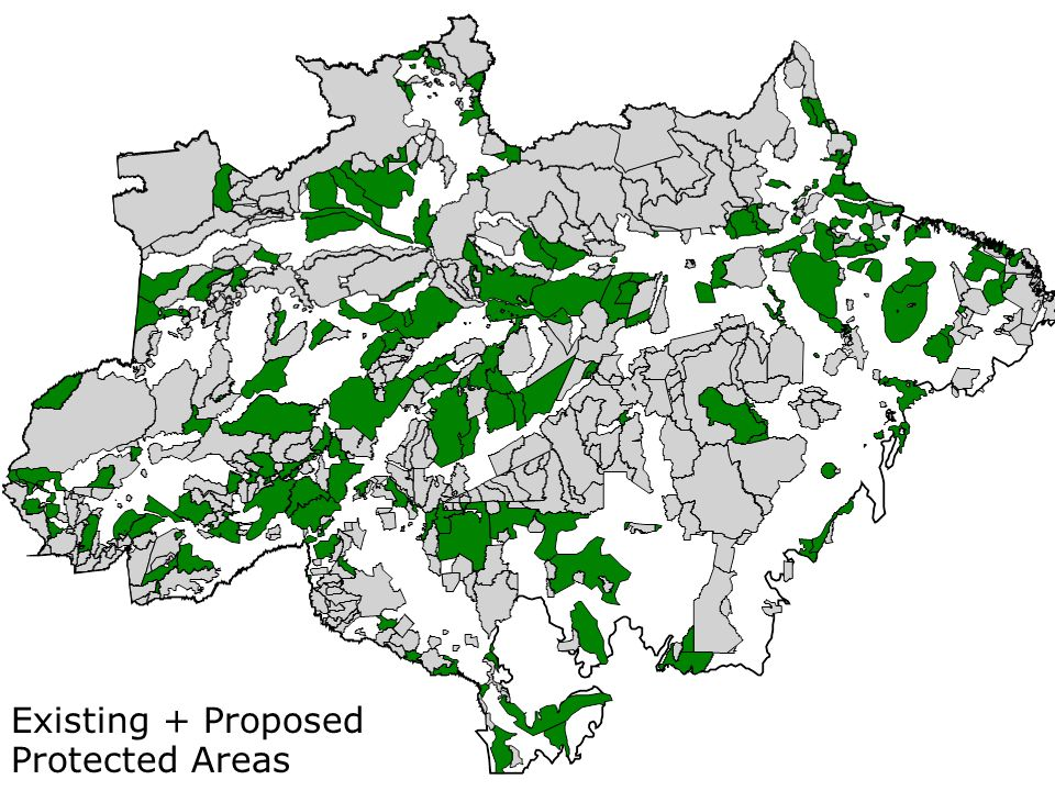 Existing + Proposed Protected Areas