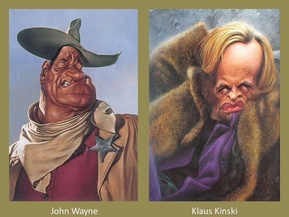 John WayneKlaus Kinski
