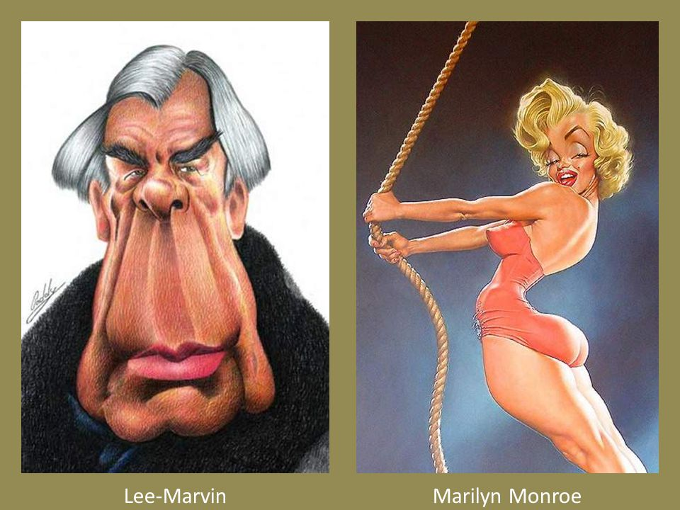 Lee-MarvinMarilyn Monroe