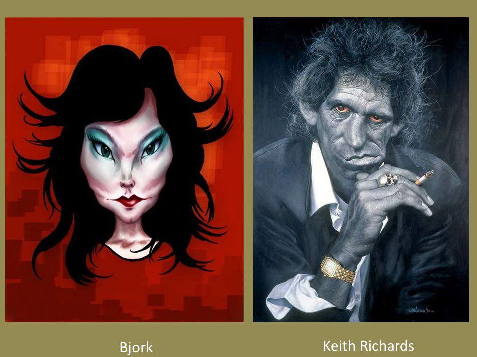 Bjork Keith Richards