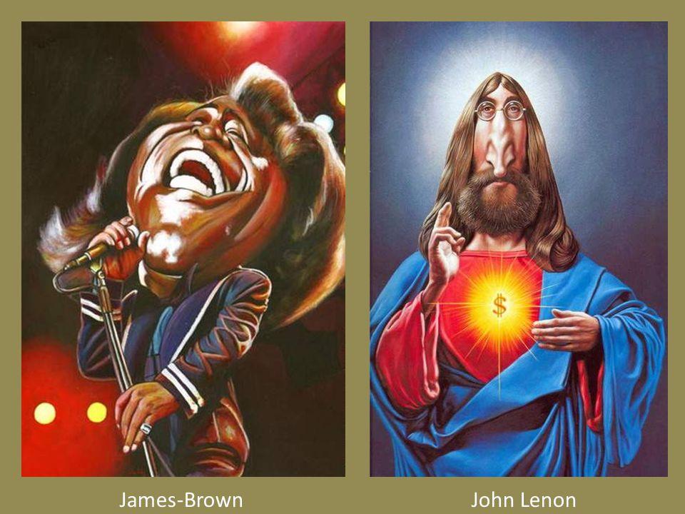 James-BrownJohn Lenon