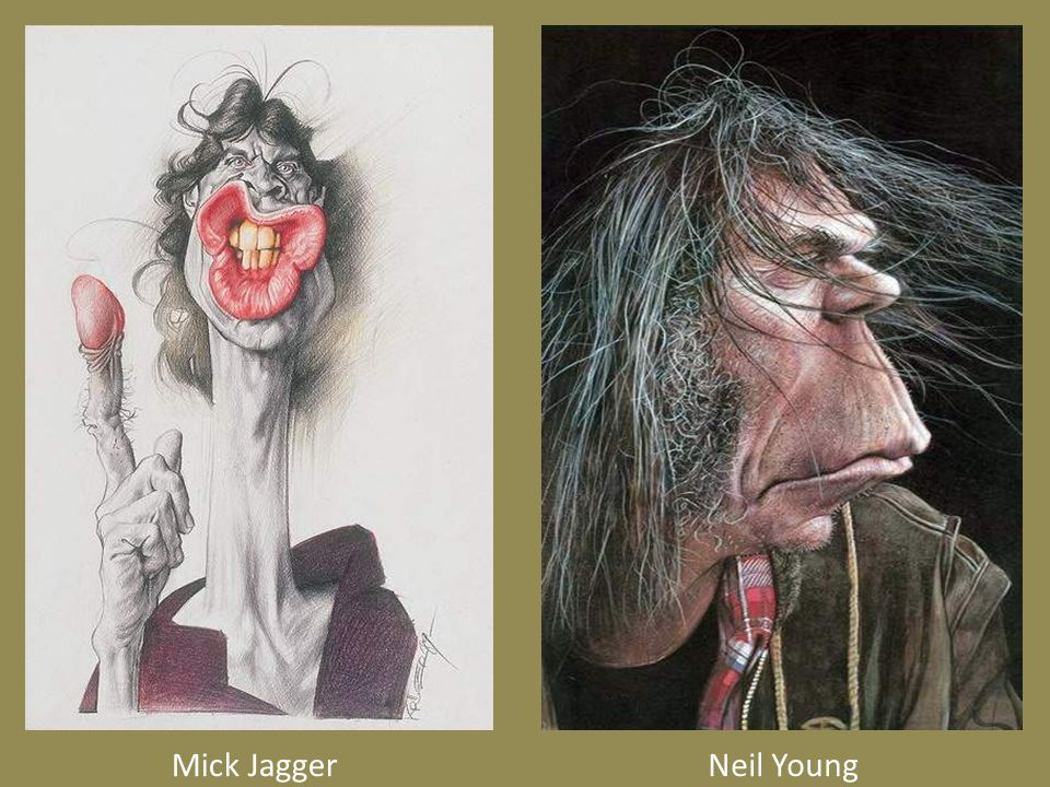 Mick JaggerNeil Young