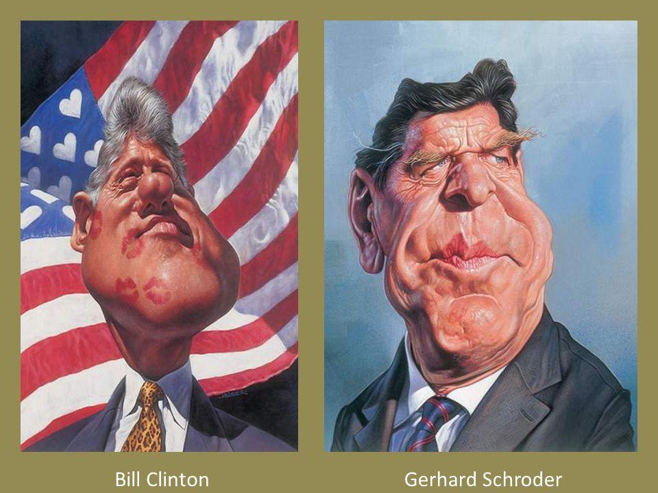Bill ClintonGerhard Schroder