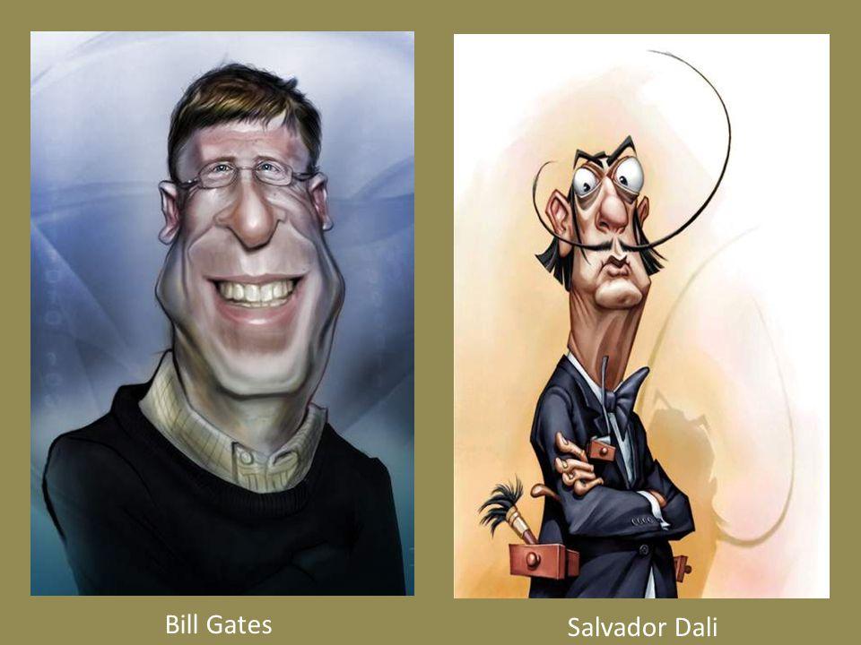 Salvador Dali Bill Gates