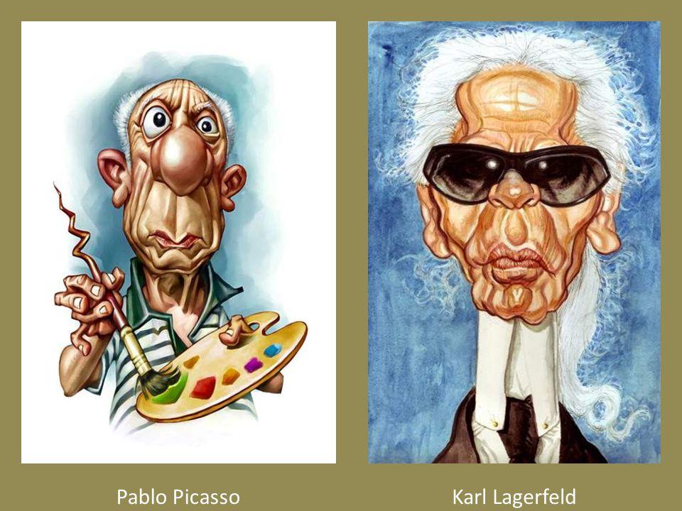 Pablo PicassoKarl Lagerfeld