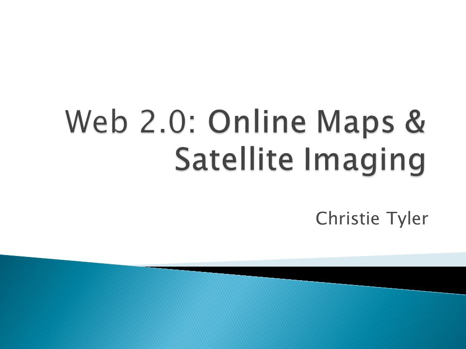  Online maps are searchable databases that can display various map data on a web page.