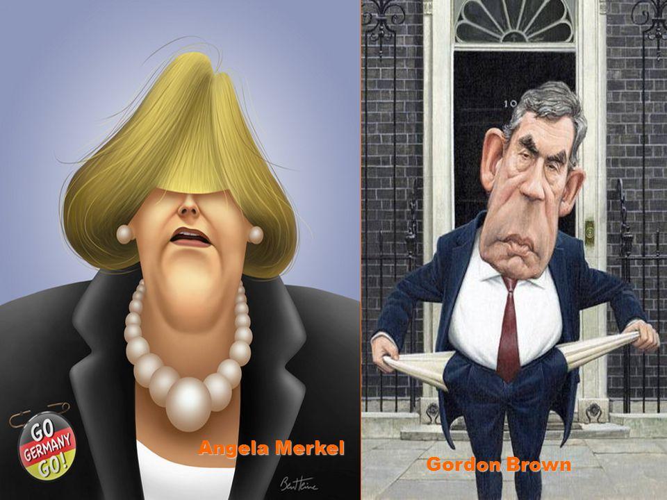 Angela Merkel Gordon Brown