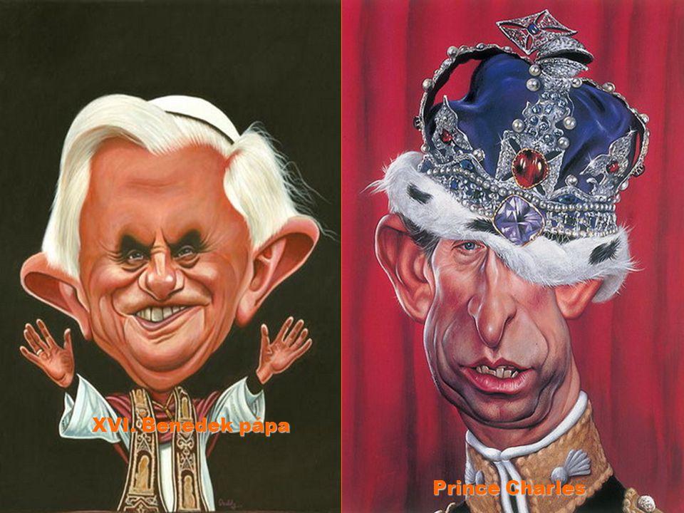 XVI. Benedek pápa Prince Charles