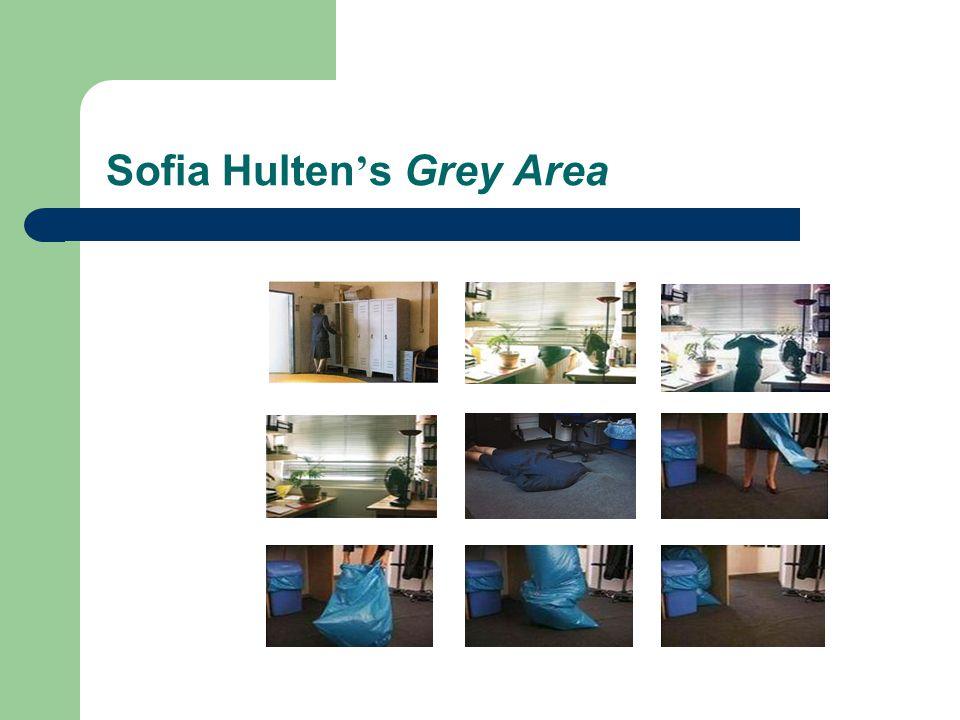 Sofia Hulten ' s Grey Area