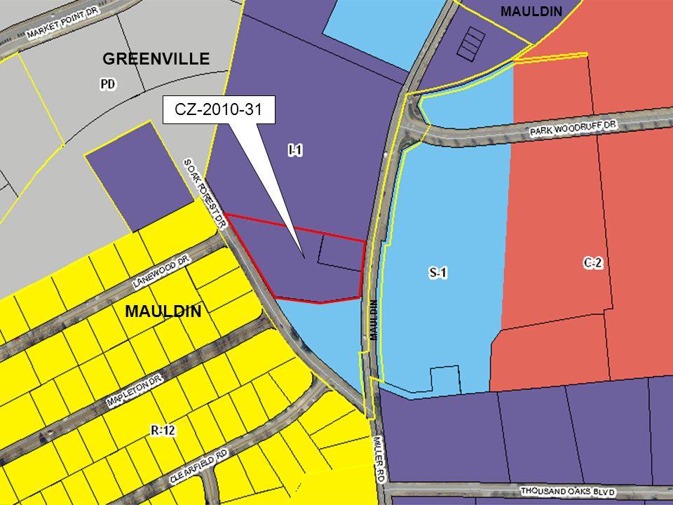 CZ-2010-31 MAULDIN GREENVILLE