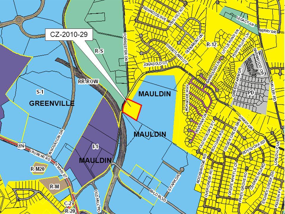 CZ-2010-29 MAULDIN GREENVILLE