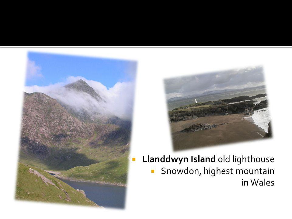  Llanddwyn Island old lighthouse  Snowdon, highest mountain in Wales