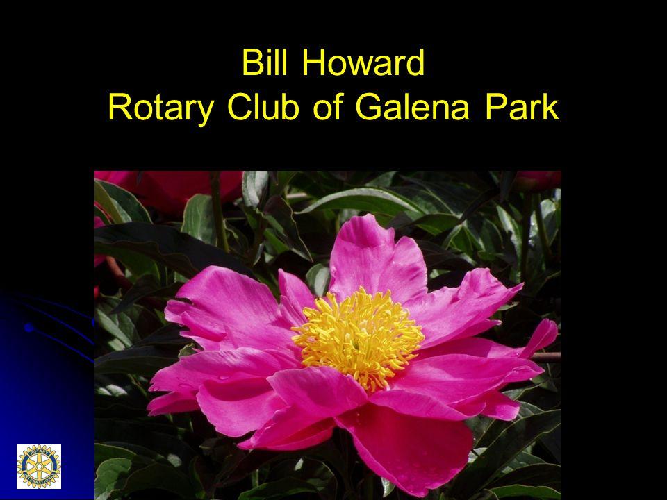 Bill Howard Rotary Club of Galena Park