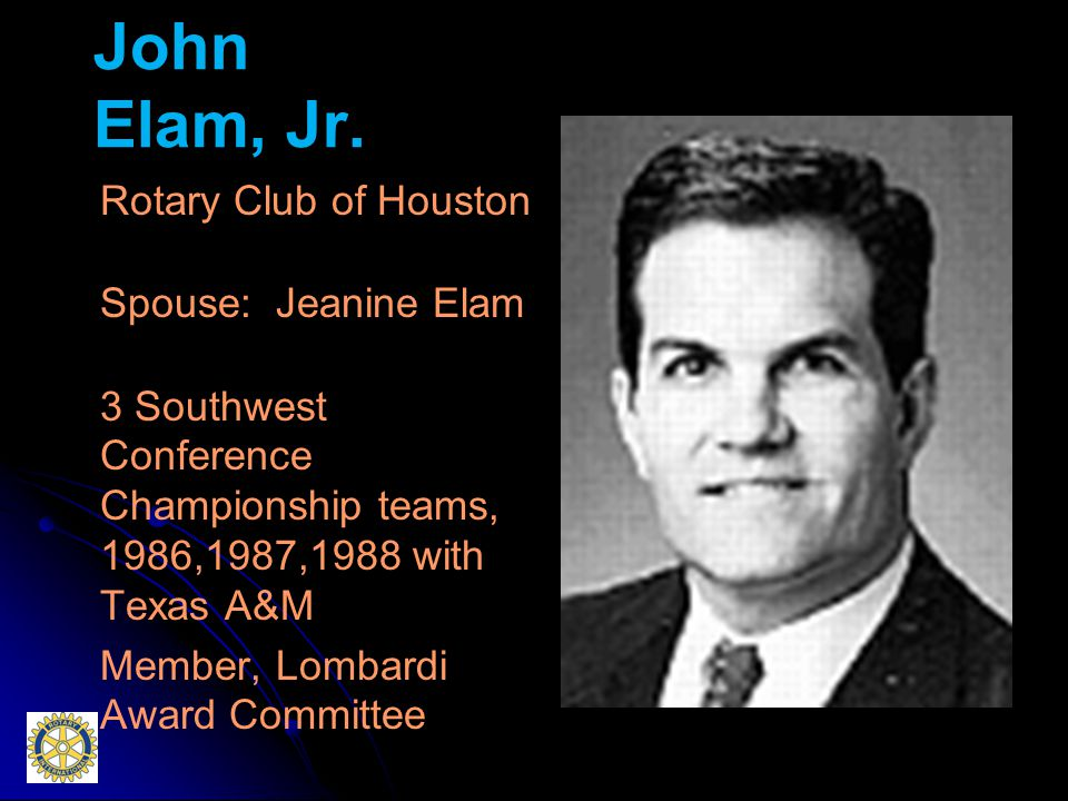 John Elam, Jr.