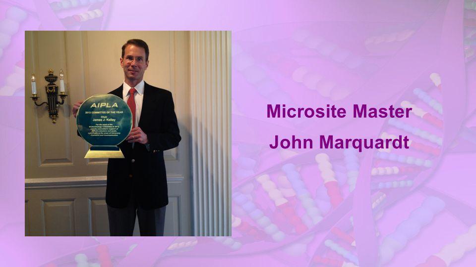 Microsite Master John Marquardt